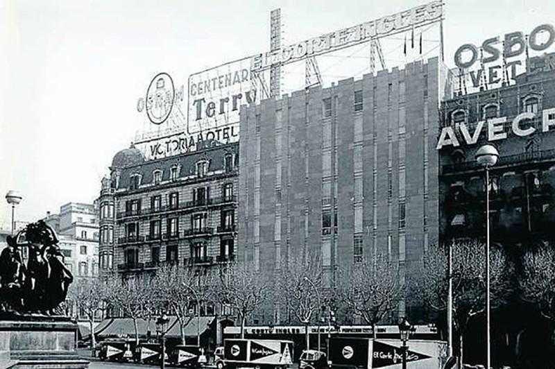 El corte ingl s la barcelona de antes - El corte ingles plaza cataluna barcelona ...