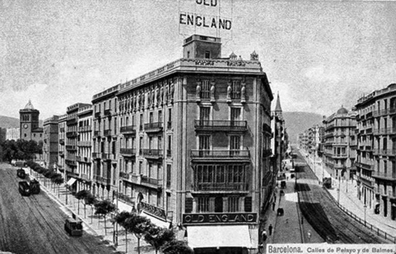 Calle pelayo carrer pelai la barcelona de antes for Oficinas de pelayo en barcelona