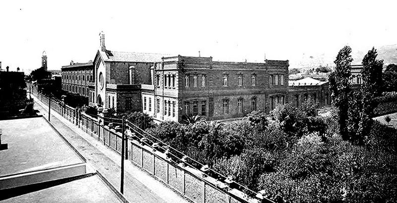 Hospital de san juan de dios hospital de sant joan de - Calle manso barcelona ...
