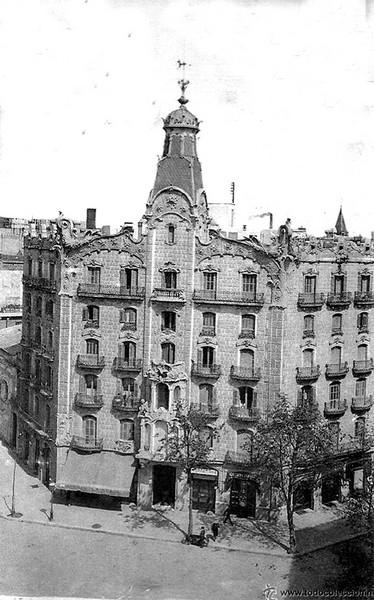 Calle caspe carrer casp la barcelona de antes - Calle casp barcelona ...