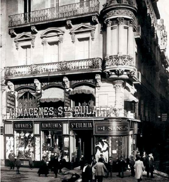 Almacenes santa eulalia magatzens santa eul lia la - Calle boqueria barcelona ...