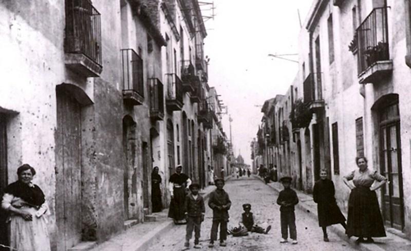 Antigua calle nuria antic carrer nuria la barcelona de - Calle valencia salamanca ...