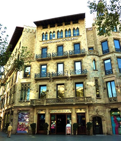 Casa pascual y pons la barcelona de antes - Calle casp barcelona ...